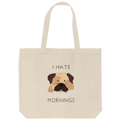 Tote Bags - Hate Morning